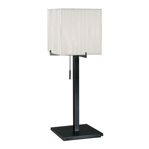 "Sonneman Boxus 28"" H Table Lamp with Square Shade"