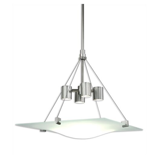 Sonneman Handkerchief 4 Light Square Foyer Pendant
