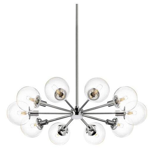 Sonneman Orb 10 Light Radial Pendant