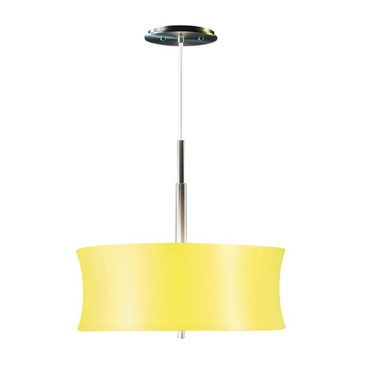 Sonneman Lightweights 2 Light Round Drum Pendant