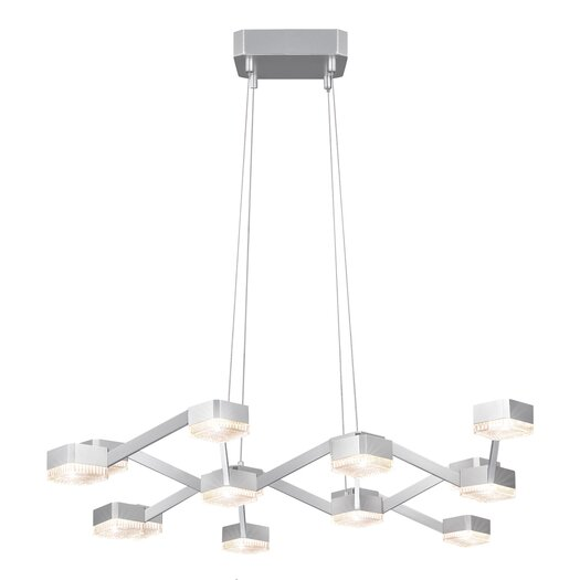 Sonneman Lattice 16 Light Pendant