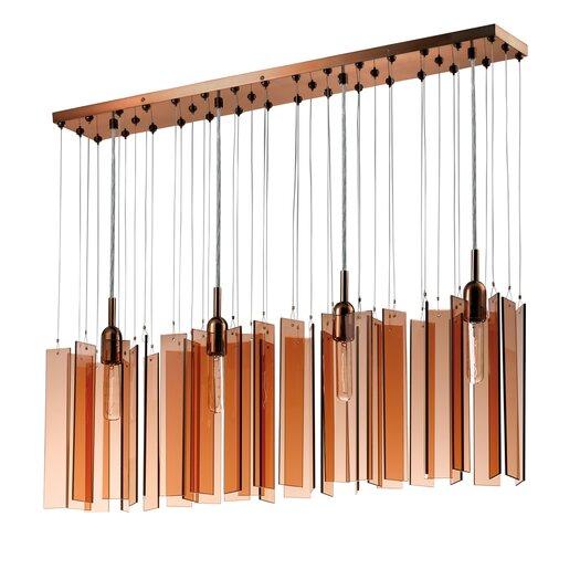 Sonneman Chimes 4 Light Pendant
