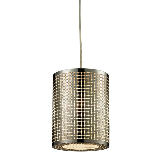 Elk Lighting Lightgrid 1 Light Mini Pendant