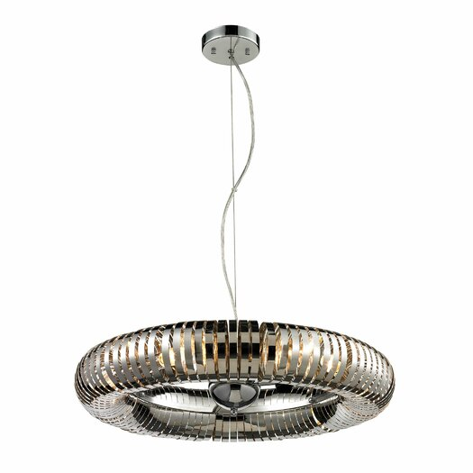Elk Lighting Alexia 6 Light Pendant Chandelier