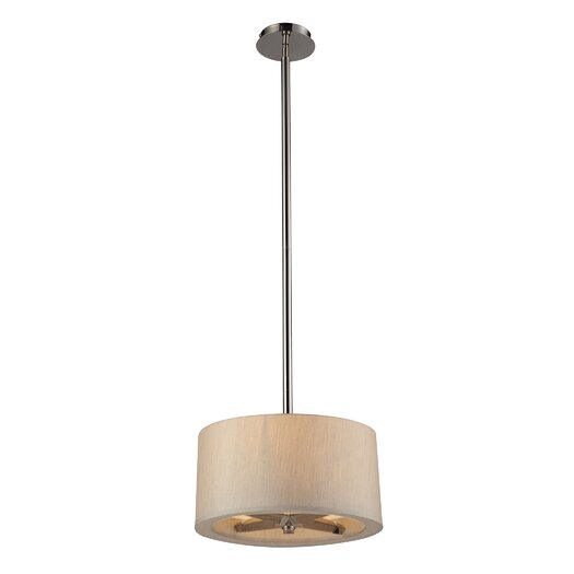 Elk Lighting Jorgenson 3 Light Drum Pendant