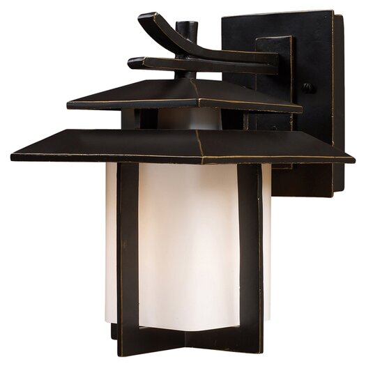 Elk Lighting Kanso 1 Light Outdoor Wall Lantern