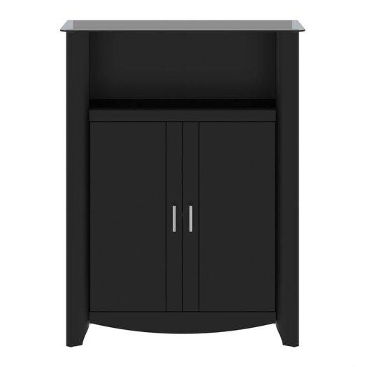 """Bush Industries Aero 31.38"""" 2 Door Library Storage Cabinet"""