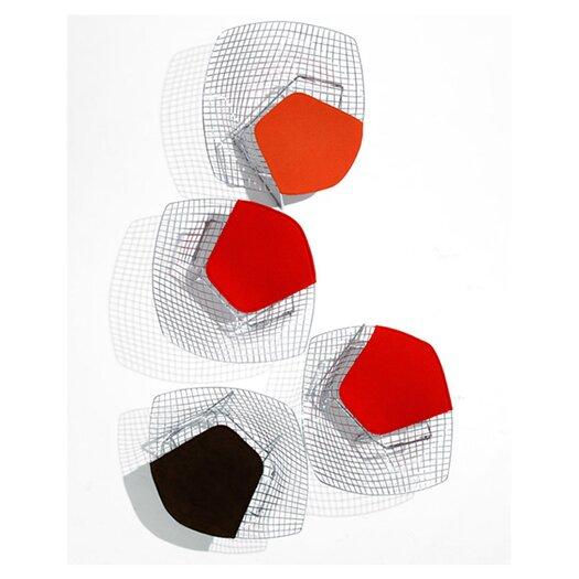 Knoll ® Bertoia Diamond Chair