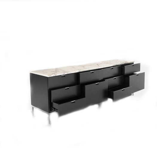 """Knoll ® Florence 74.75"""" Ten Drawer Credenza"""