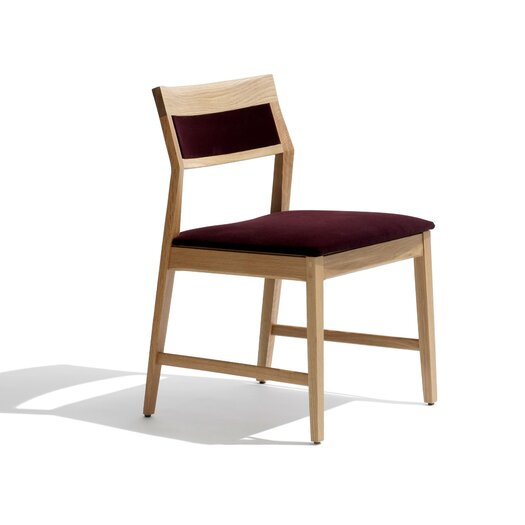 Marc Krusin Armless Side Chair with Upholstered Back