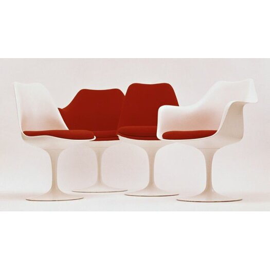 Knoll ® Saarinen Tulip Arm Chair with Full Cover