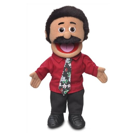 """Silly Puppets 14"""" Carlos Glove Puppet"""