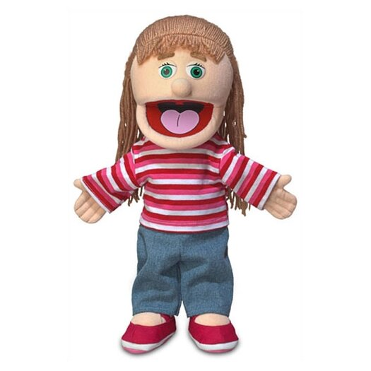 """Silly Puppets 14"""" Emily Glove Puppet"""