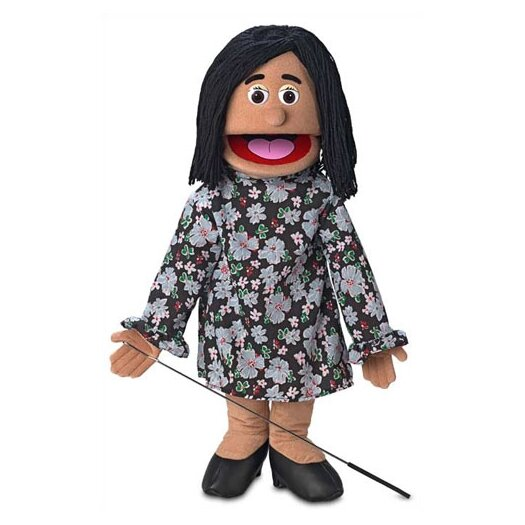 "Silly Puppets 25"" Maria Full Body Puppet"