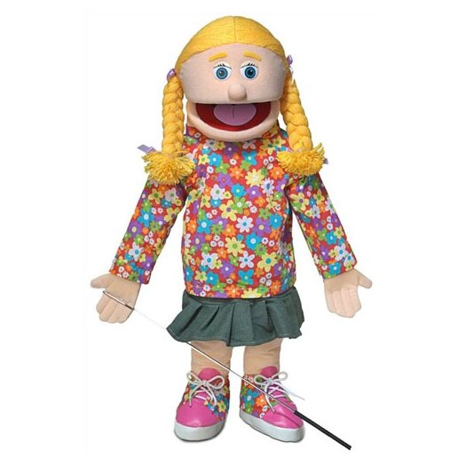 """Silly Puppets 25"""" Cindy Full Body Puppet"""