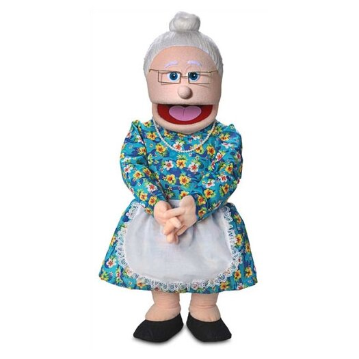 """Silly Puppets 30"""" Granny Professional Puppet with Removable Legs"""