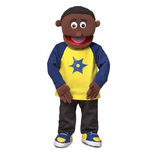"""Silly Puppets 30"""" Jordan Professional Puppet with Removable Legs"""
