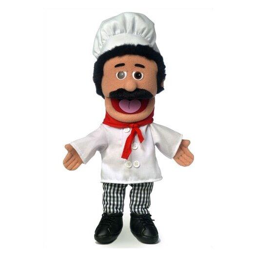 "Silly Puppets 14"" Chef Luigi Glove Puppet"