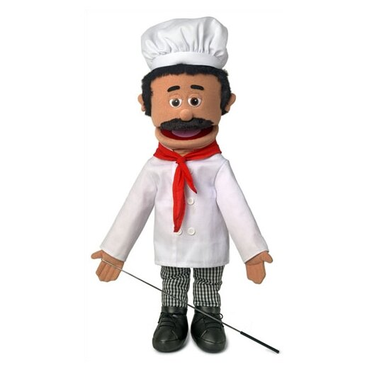 "Silly Puppets 25"" Chef Luigi Full Body Puppet"