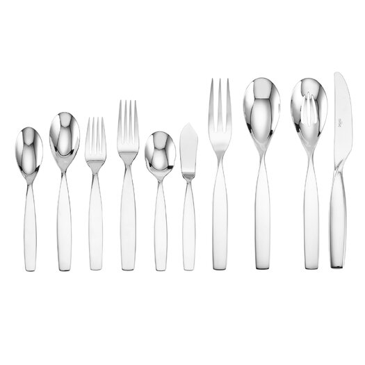 Sasaki Axis 45 Piece Atlantic Flatware Set