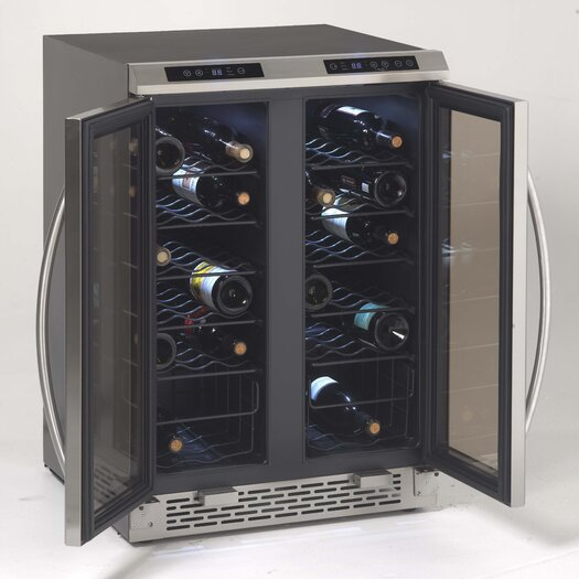 Avanti Products 2 Cu. Ft. Bottle Dual Zone Wine Refrigerator