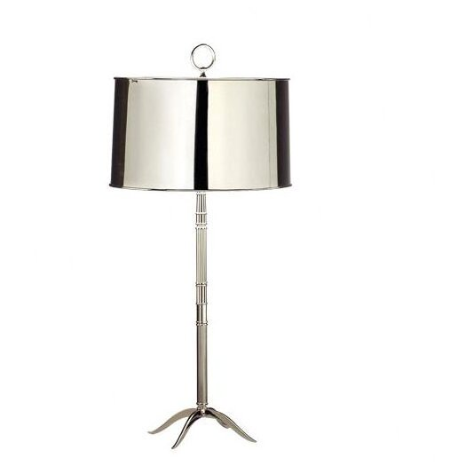"""Robert Abbey Porter 33.14"""" H Table Lamp with Drum Shade"""