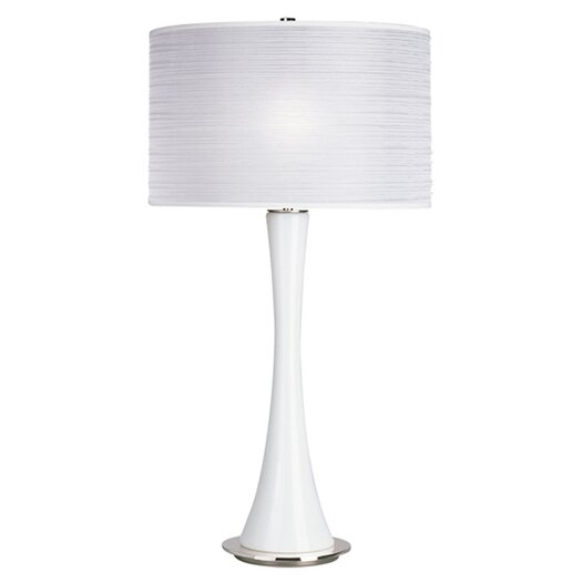 "Robert Abbey Kate Large 34.75"" H Table Lamp with Drum Shade"