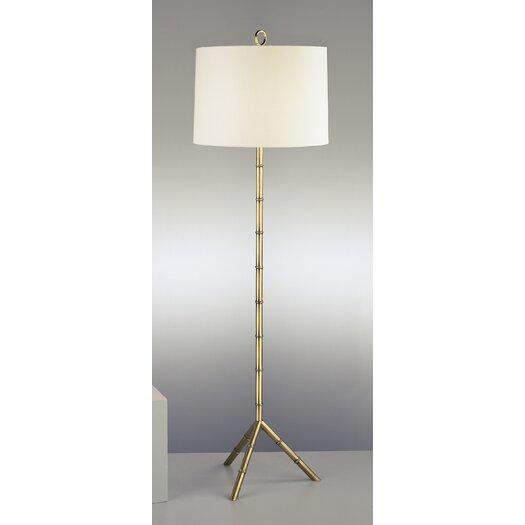 Robert Abbey Jonathan Adler Meurice Floor Lamp with Off White Shade