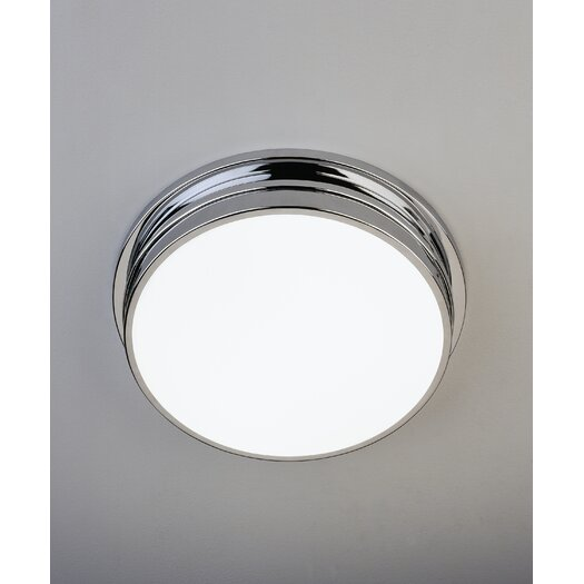 Robert Abbey Roderick Two Light Flush Mount