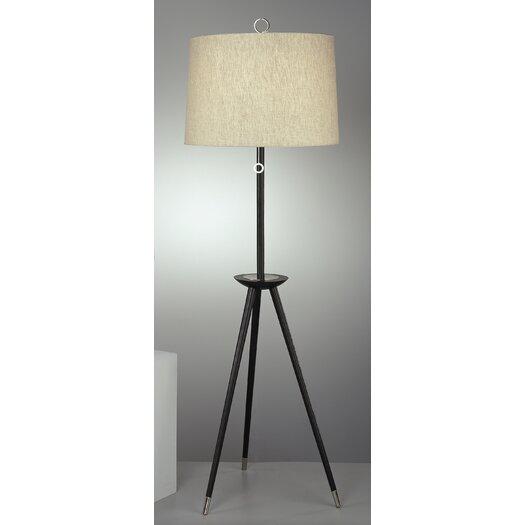 Robert Abbey Jonathan Adler Ventana Tripod Floor Lamp