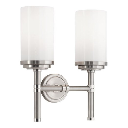 Robert Abbey Halo 2 Light Wall Sconce