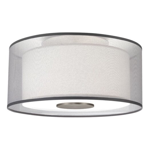 Robert Abbey Saturnia 2 Light Flush Mount