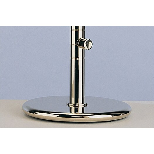 """Robert Abbey Ovo 23"""" H Table Lamp with Oval Shade"""
