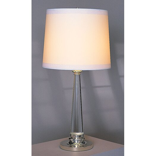 """Robert Abbey Lucidity 33.5"""" H Table Lamp with Empire Shade"""