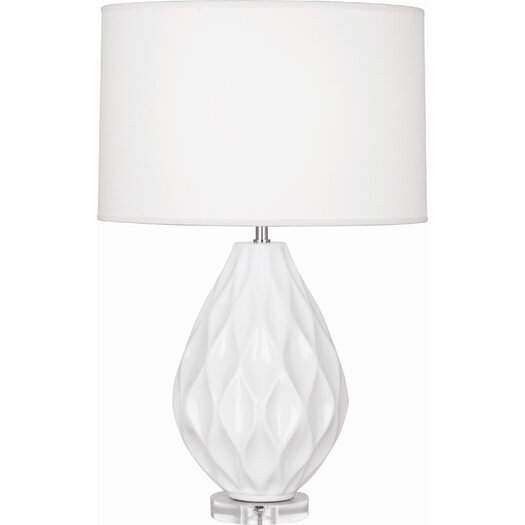 """Robert Abbey Odyssey 22.63"""" H Table Lamp with Drum Shade"""