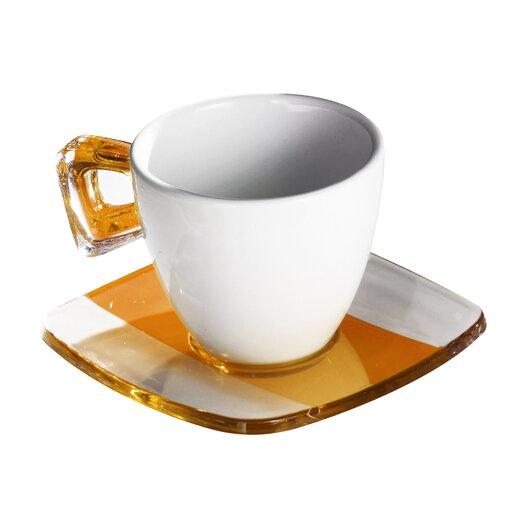 Omada Square Coffee Crystal Teacup