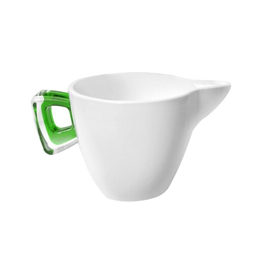 Omada Square Porcelain Milk Pitcher with Cover
