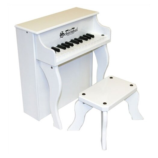 Schoenhut Elite Spinet Piano in White