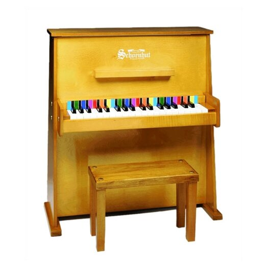 Schoenhut Day Care Durable Spinet Piano in Oak