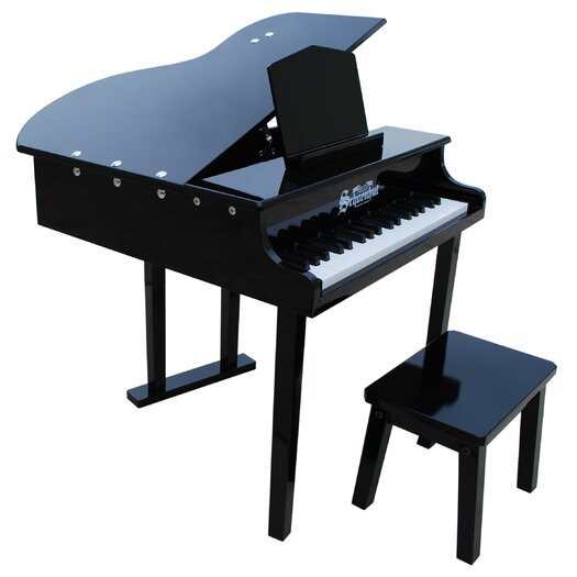 Schoenhut 37 Key Concert Grand Piano in Black