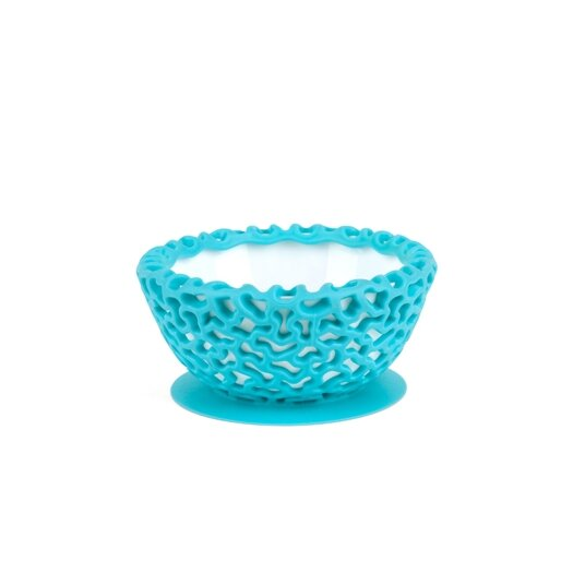 Boon Wrap Protective Bowl Cover with Suction Cup Base in Blue Raspberry