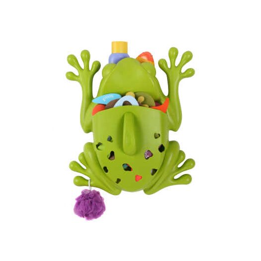 Frog Pod Bath Toy Scoop in Green