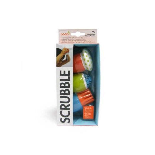 Boon Scrubble Bath Toy And Scrub Set in Multicolor