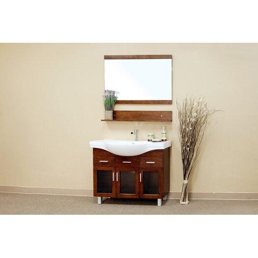Bellaterra Home Crenshaw Bathroom Mirror