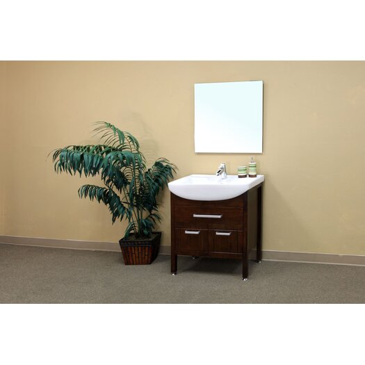 Bellaterra Home Preston Bathroom Mirror