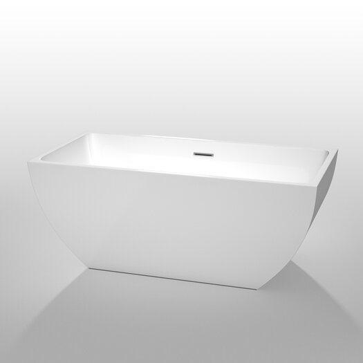 "Wyndham Collection Rachel 59"" x 29.5"" Soaking Bathtub"
