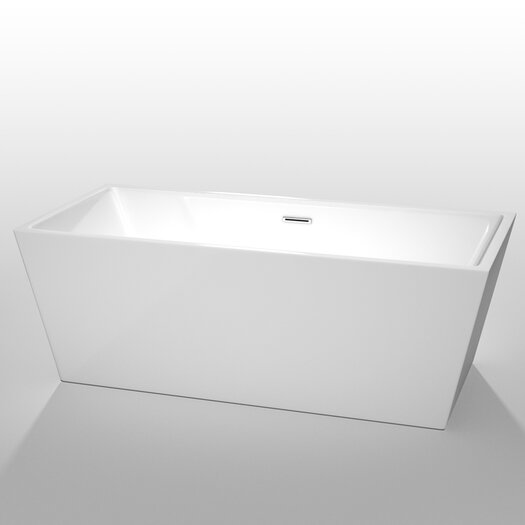 "Wyndham Collection Sara 67"" x 31.5"" Soaking Bathtub"