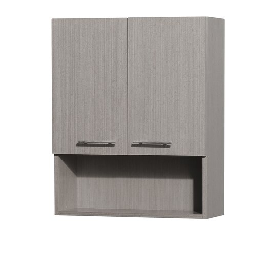 Wyndham Collection Centra Bathroom Wall Cabinet