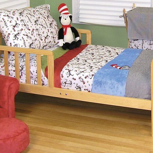 Trend Lab Dr Seuss Cat in The Hat 4 Piece Toddler Bedding Set