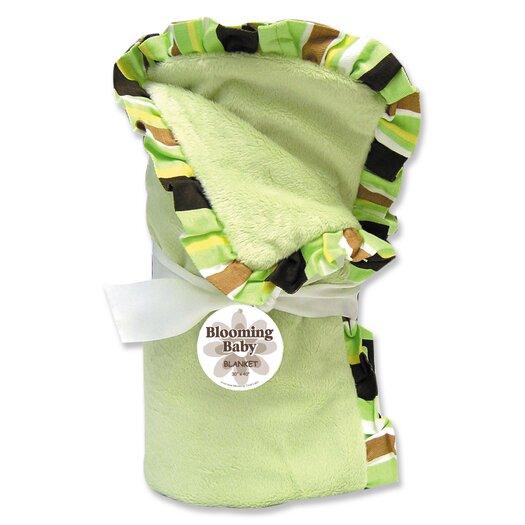 Trend Lab Giggles Velour Baby Blanket